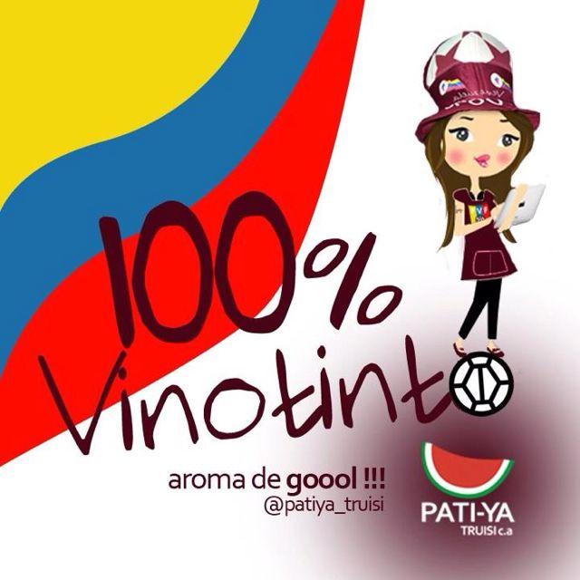 100% Vinotinto #Venezuela