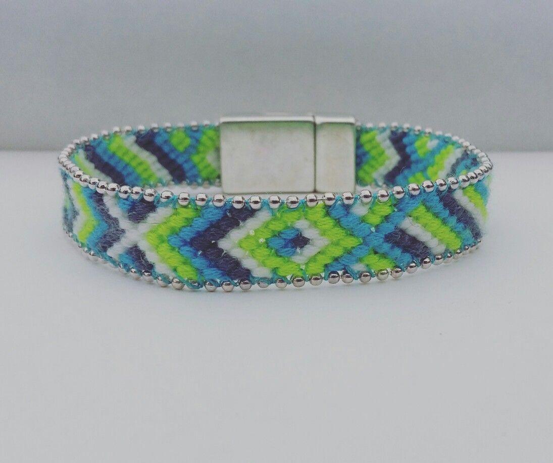 Bracelet brésilien avec fermoir magnetique