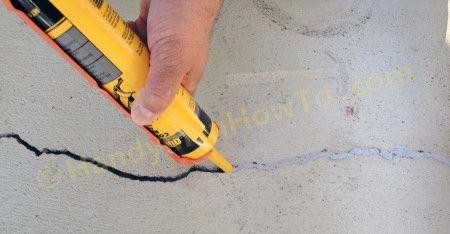 How to Repair a Cracked Concrete Patio - Part 1 | DIY | Pinterest ...