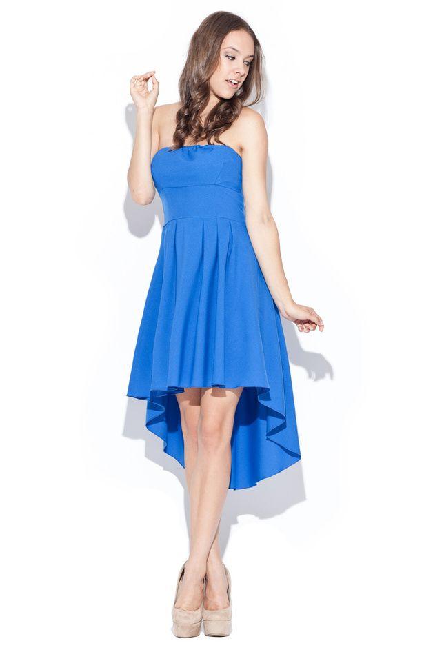 Kleid k031 blau | Kleider mode, Sommerkleider und Einfarbig
