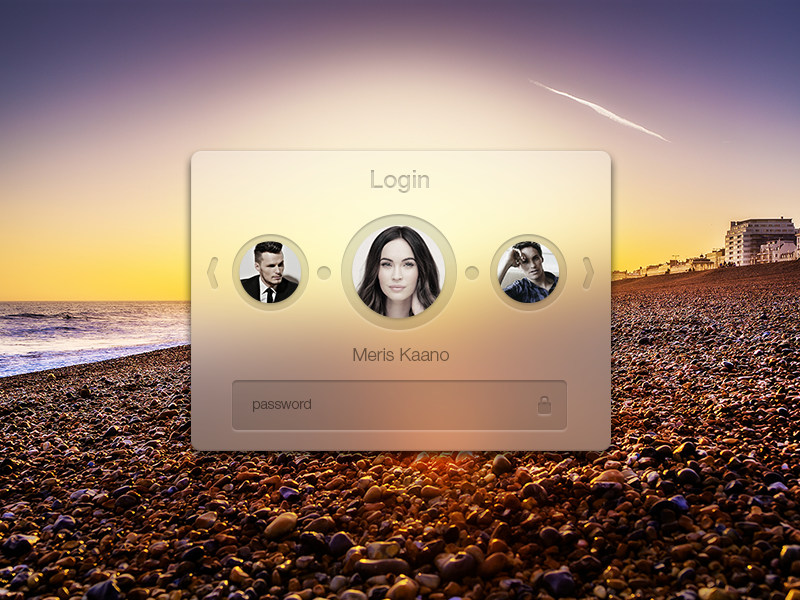 Multiple user login | Website | Login design, User interface