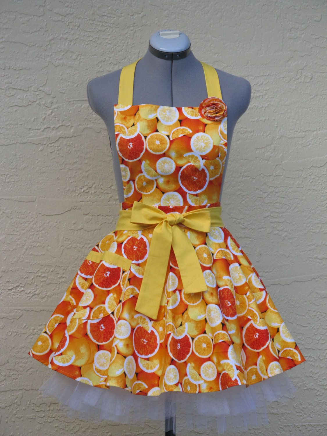 Ready to shipOnly One Colorful Bright Oranges by AquamarsBoutique, $36.00