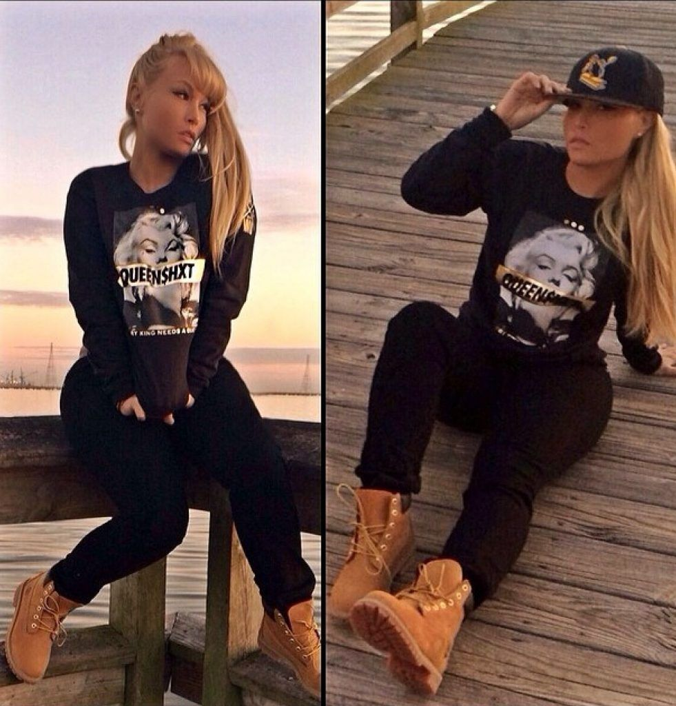100 Outfit Ideas to Wear with Timberland Boots | White girl