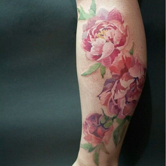 Gorgeous Vintage Flower Tattoo