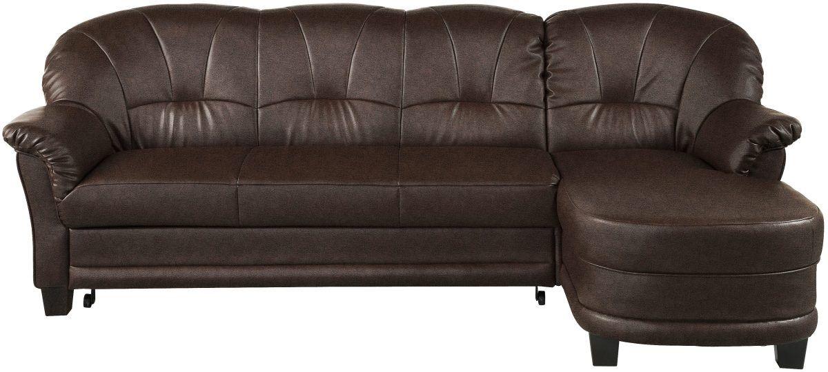 Home affaire Sitzecke braun, Recamiere rechts, »Camelita«, mit - wohnzimmer sofa braun
