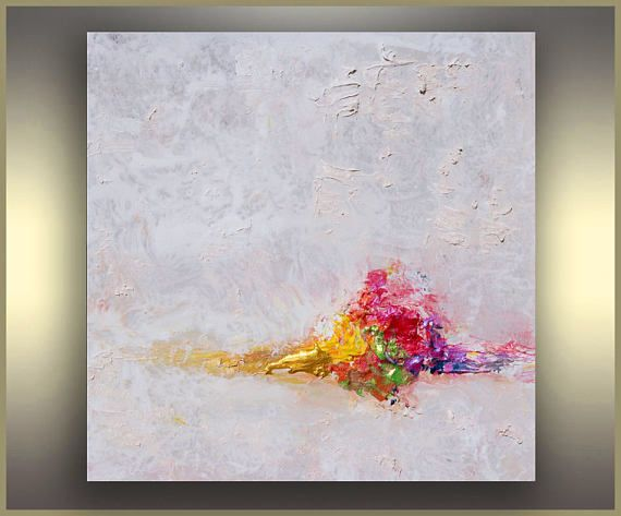 Minimalist Painting White Abstract Art Landscape Painting Etsy Abstract Art Painting Techniques Abstract Abstract Art Landscape