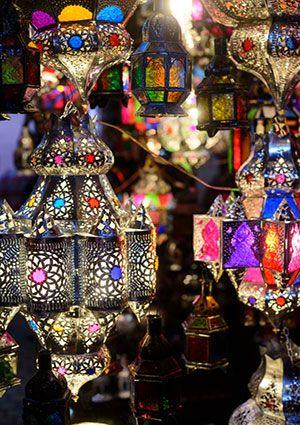 Image: Lamps-in-the-Marrakesh-souks.jpg - LoveToKnow Interior Design