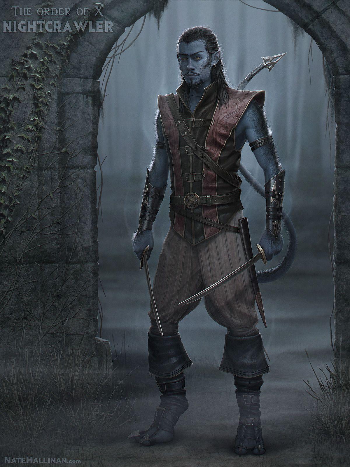 Medieval Nightcrawler, Rogue, Thief, Assassin, x-men, RPG ...