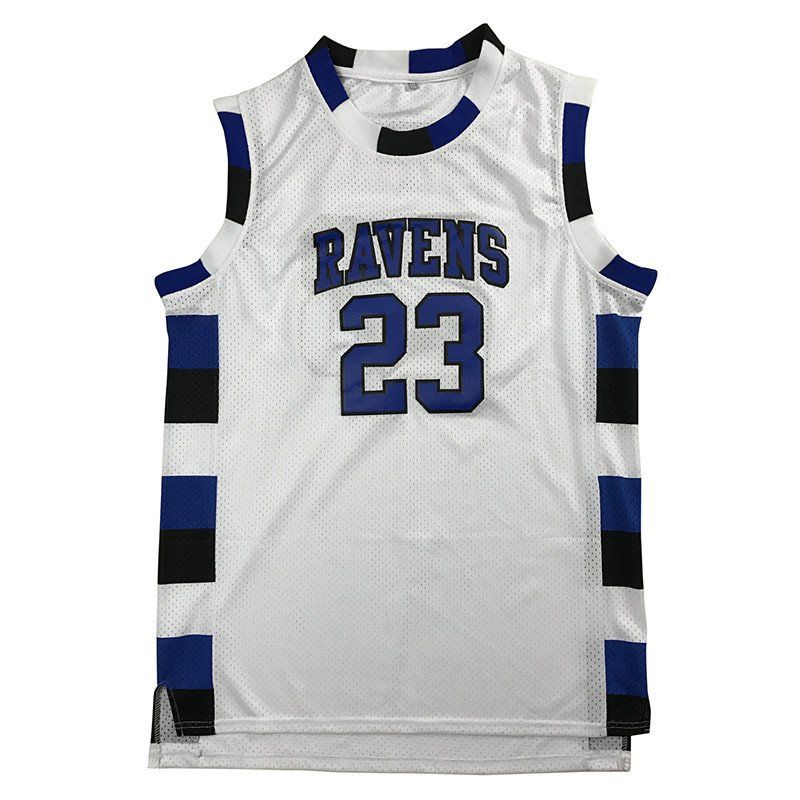 Nathan Scott jersey is from the TV show One Tree Hill. It is the  23 One  Tree Hill Ravens basketball jersey. 3 Colors 3e0113ce8