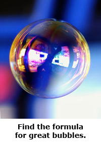 2014 Summer Science Guide: Bubble Science Project