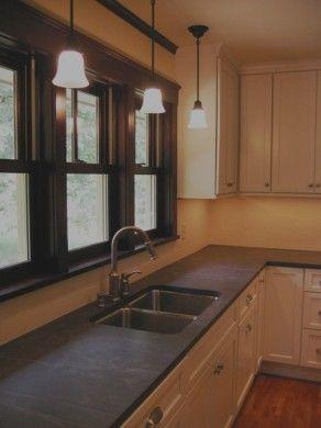 Unoiled Soapstone Home Building Design Kitchen