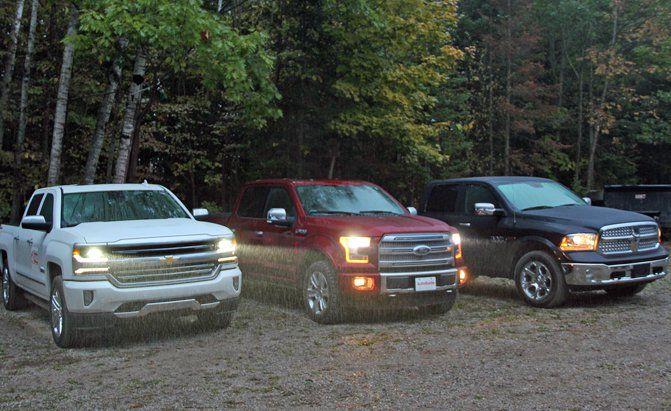 2016 Ford F 150 Vs Ram 1500 Ecodiesel Vs Chevy Silverado Autoguide Com News Chevy Silverado Chevy Trucks Silverado Silverado