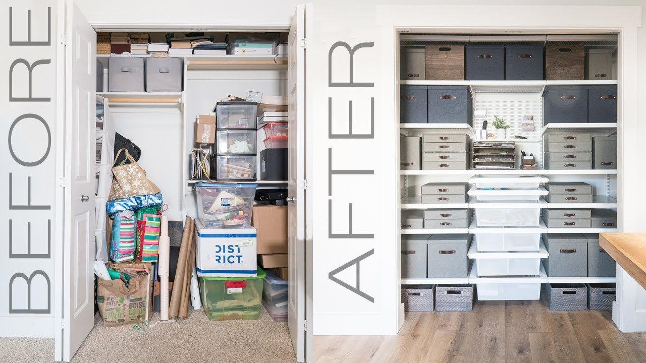 DIY Closet Organization Makeover from Mr. Build It and The
