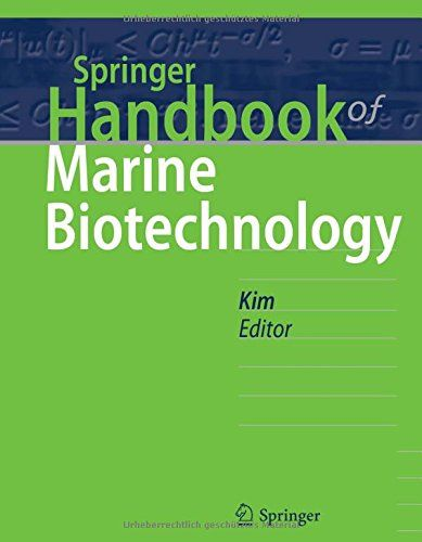 Springer handbook of marine biotechnology / Se-Kwon Kim (ed.)