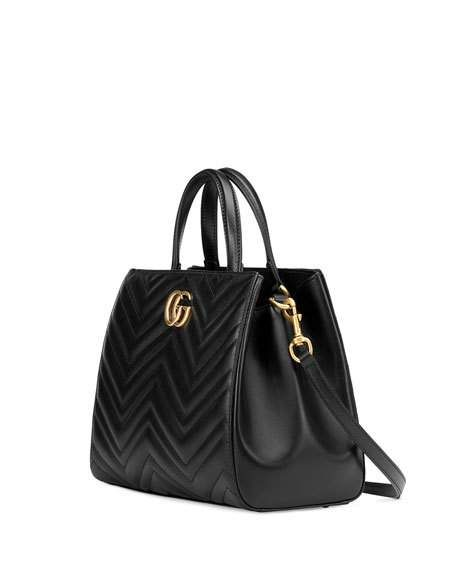 57de366125495b GG Marmont Small Matelassé Top-Handle Bag   Bag Wish List in 2019 ...