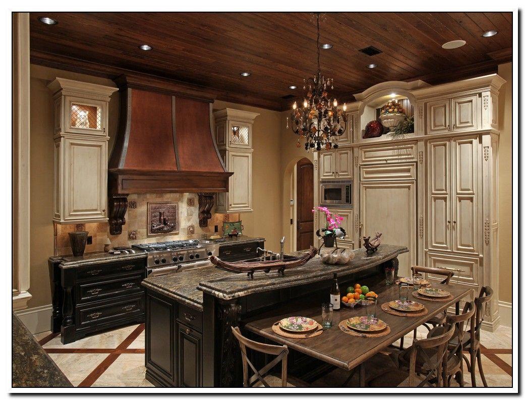114 Reference Of Kitchen Cabinets Mediterranean Style In 2020 Mediterranean Kitchen Design Tuscan Kitchen Design Mediterranean Kitchen