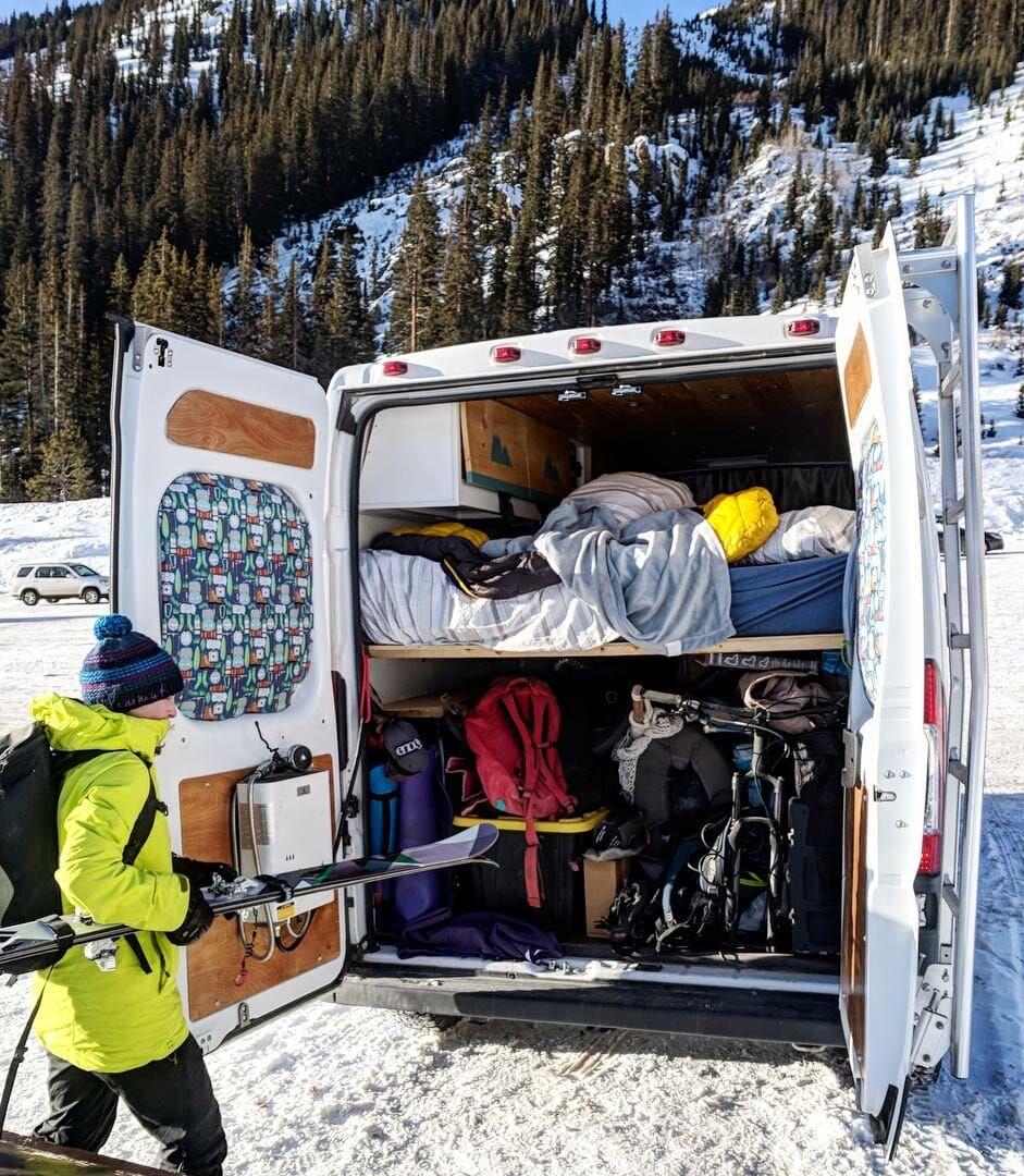 How to heat your van in winter with images van living