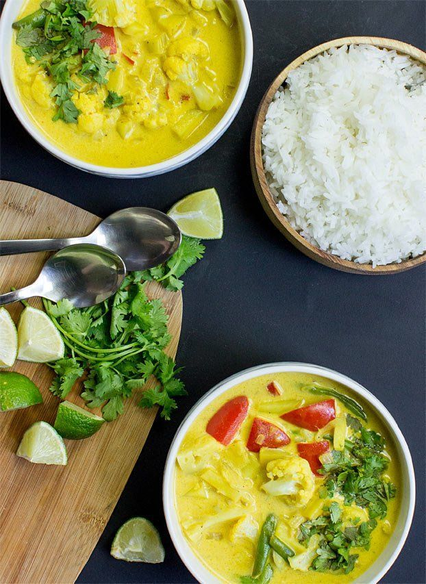 Easy Cauliflower Curry images