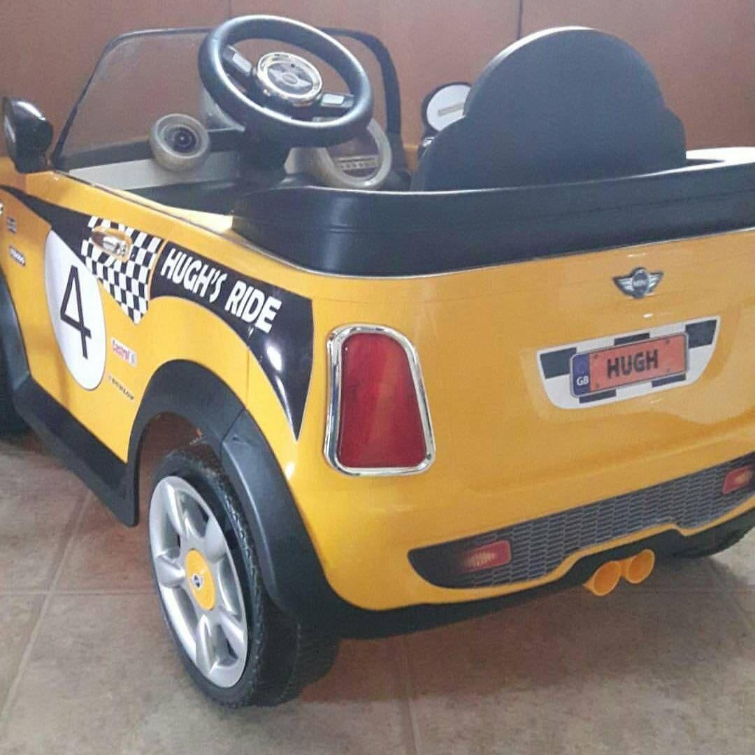 Full Custom Decal Set To Make Your Kids Ride Theirs Austinmini Minicooper Rollplay Powerwhe Power Wheels Custom Custom Power Wheels Ride On Toys [ 1080 x 1080 Pixel ]