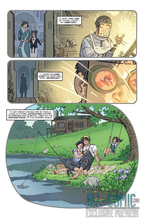 EXCLUSIVE PREVIEW: Past Aways #8, Writer: Matt Kindt Artist: Scott Kolins Colonist: Bill Crabtree Cover Artist: Scott Kolins Genre: Superhero, Science-Fiction, Action/Adventure Pu...,  #All-Comic #BillCrabtree #DarkHorse #DarkHorseComics #ExclusivePreview #MattKindt #PastAways #Preview #ScottKolins