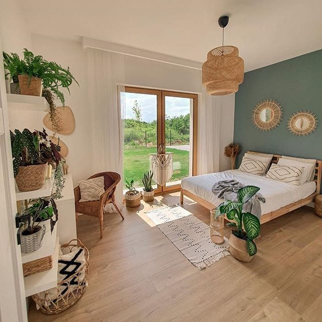 Such A Refreshing Yet Cozy Bedroom
