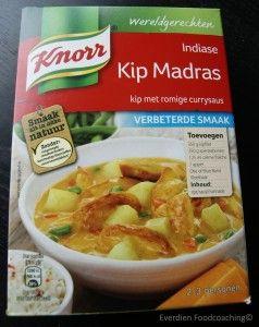 Knorr wereldgerechten ongezond