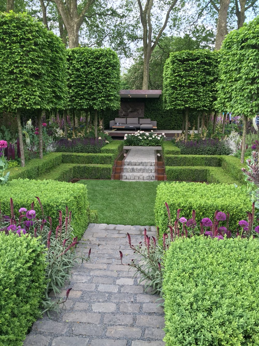 39 melbourne 39 garden chelsea flower show 2016 gardens for Kingsbury garden designs