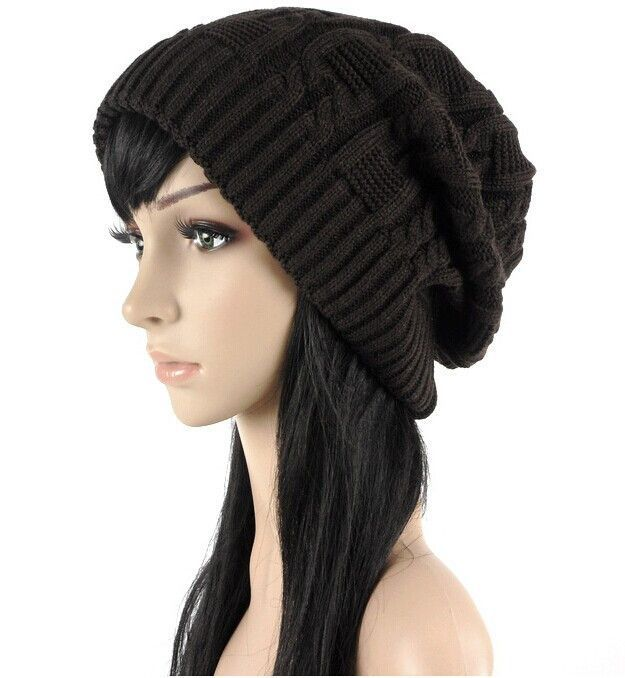 2aca69da1ff Sell Like Hot Cakes Fashion Caps Warm Autumn Winter Knitted Hats For Women  Stripes Double-deck Skullies Men s Beanies 6 Colors