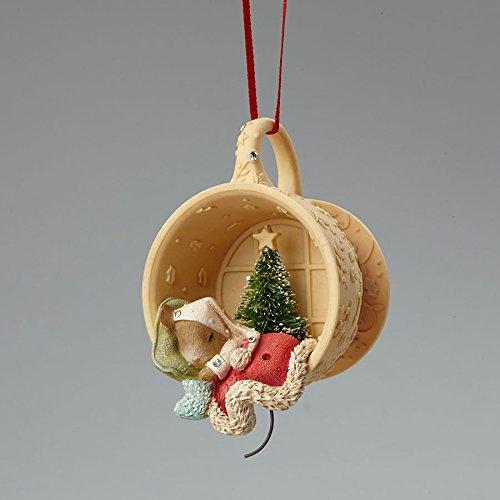 Enesco Heart of Christmas Mouse Sleeping in