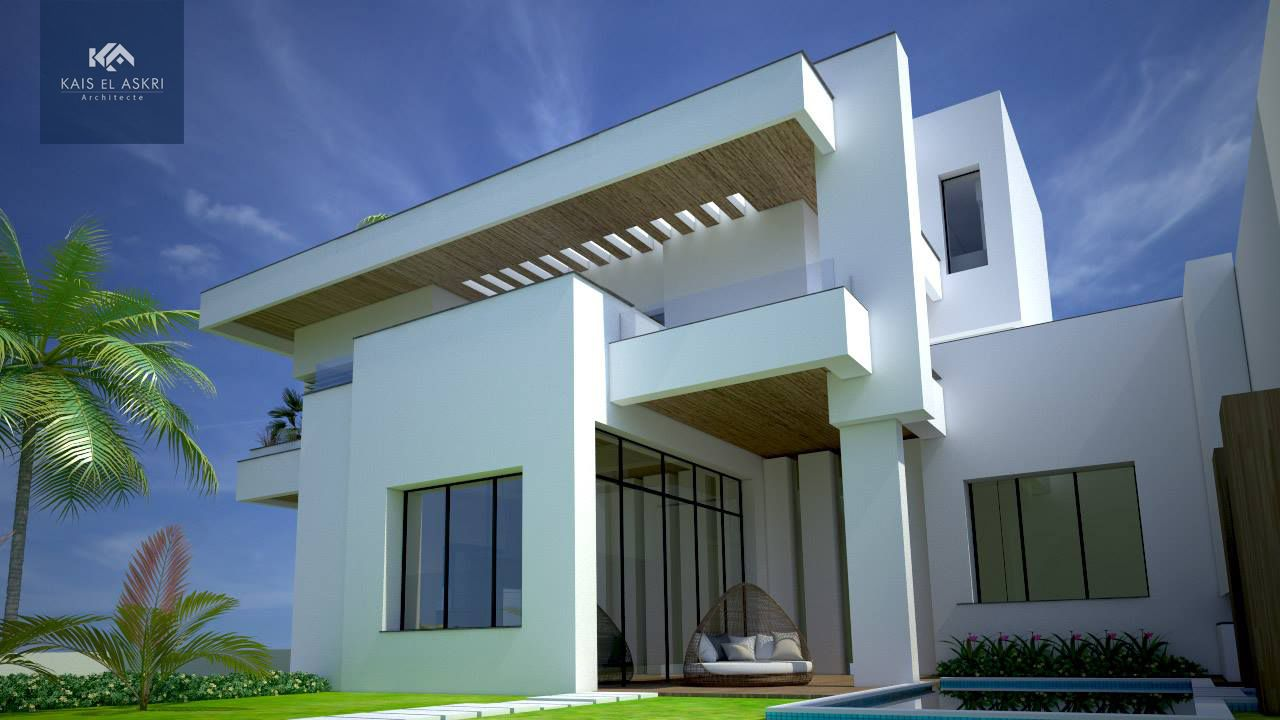 Modern Home From Tunisia Modern Architecture Architecture
