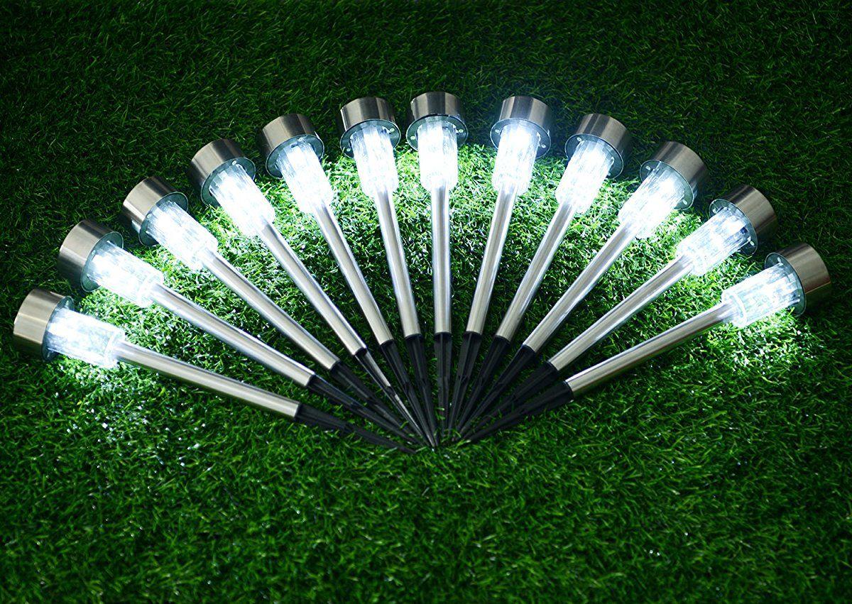 Sunnest Solar Powered Pathway Lights, Solar Garden Lights