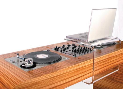Hoerboard la table de mixage pour dj table de mixage - Meuble pour table de mixage ...