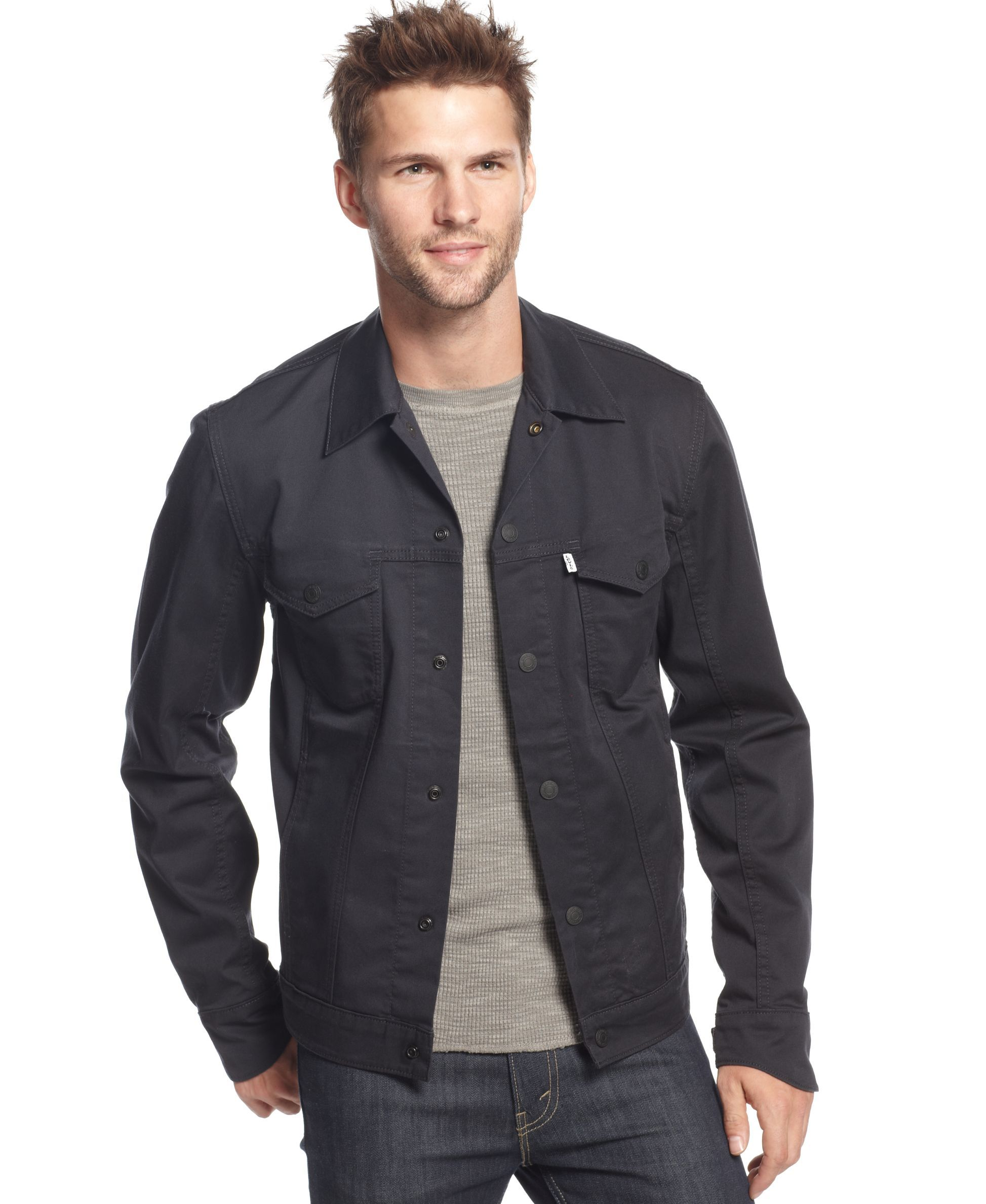 Levi's Commuter Common Blue Twill Trucker Jacket Trucker