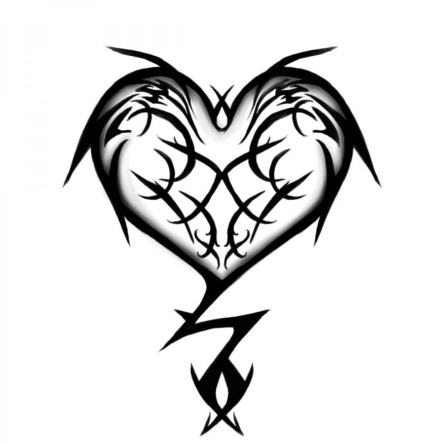 Heart Line Art Design : Heart line drawings clipart best hearts of all trades