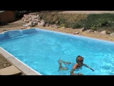 Pool selber bauen ▷ Swimmingpool im Garten - bauende Garten - schwimmbad selber bauen