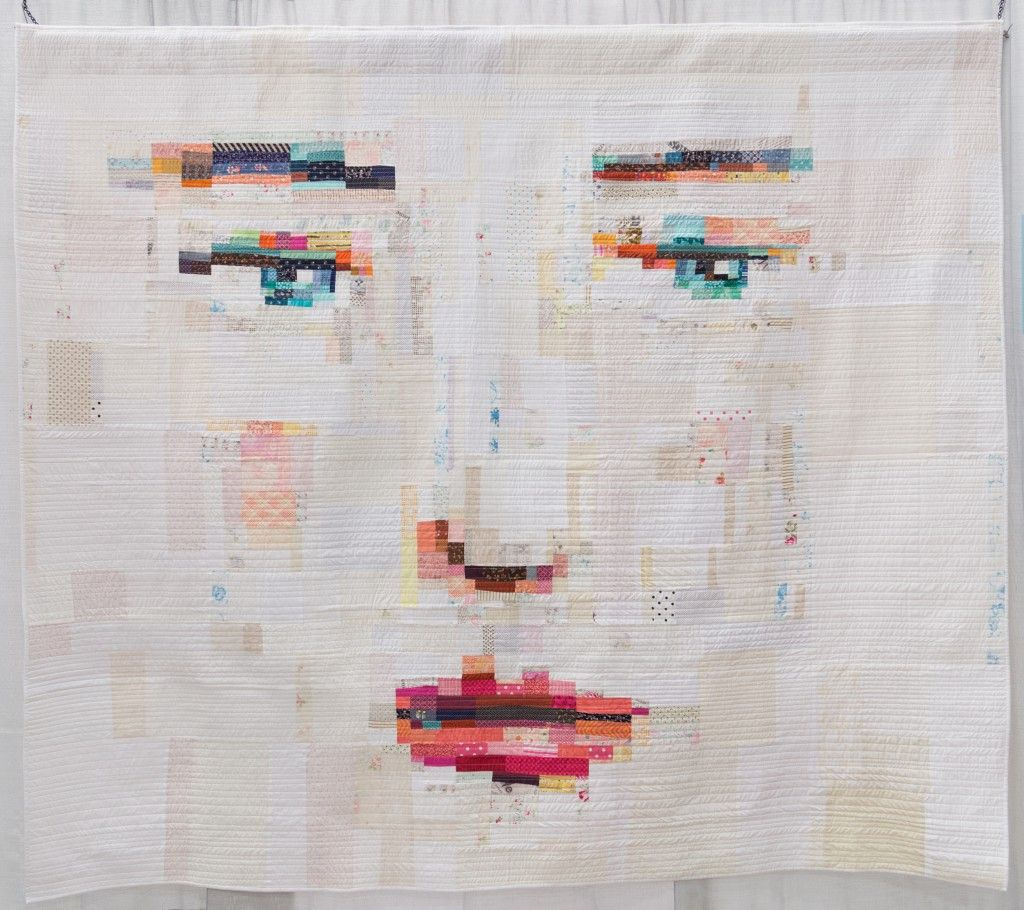 face quilt. Face #1 by Janine Vangool (Judge's Choice) Photo from ... : face quilts - Adamdwight.com