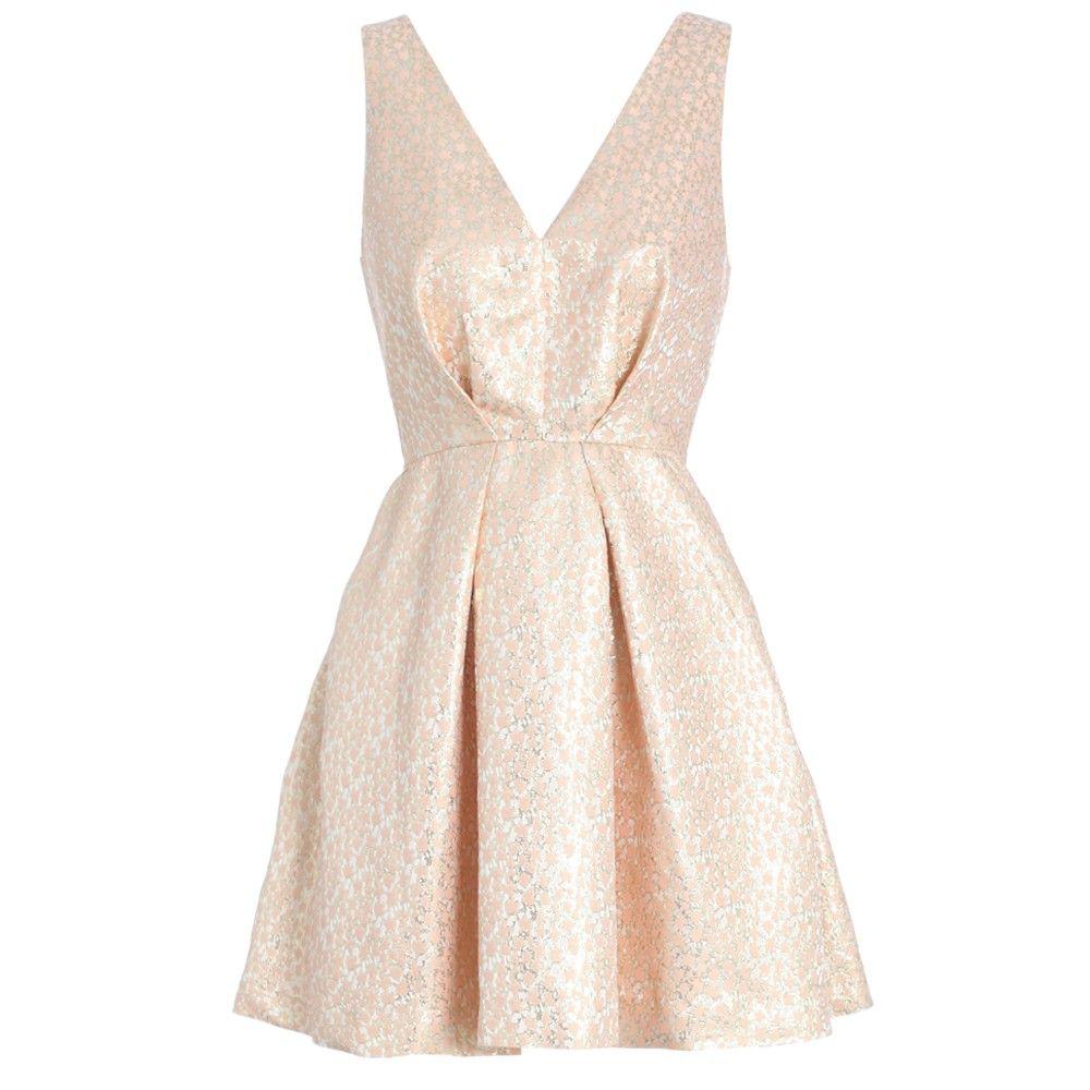 Dazed Brocade Dress