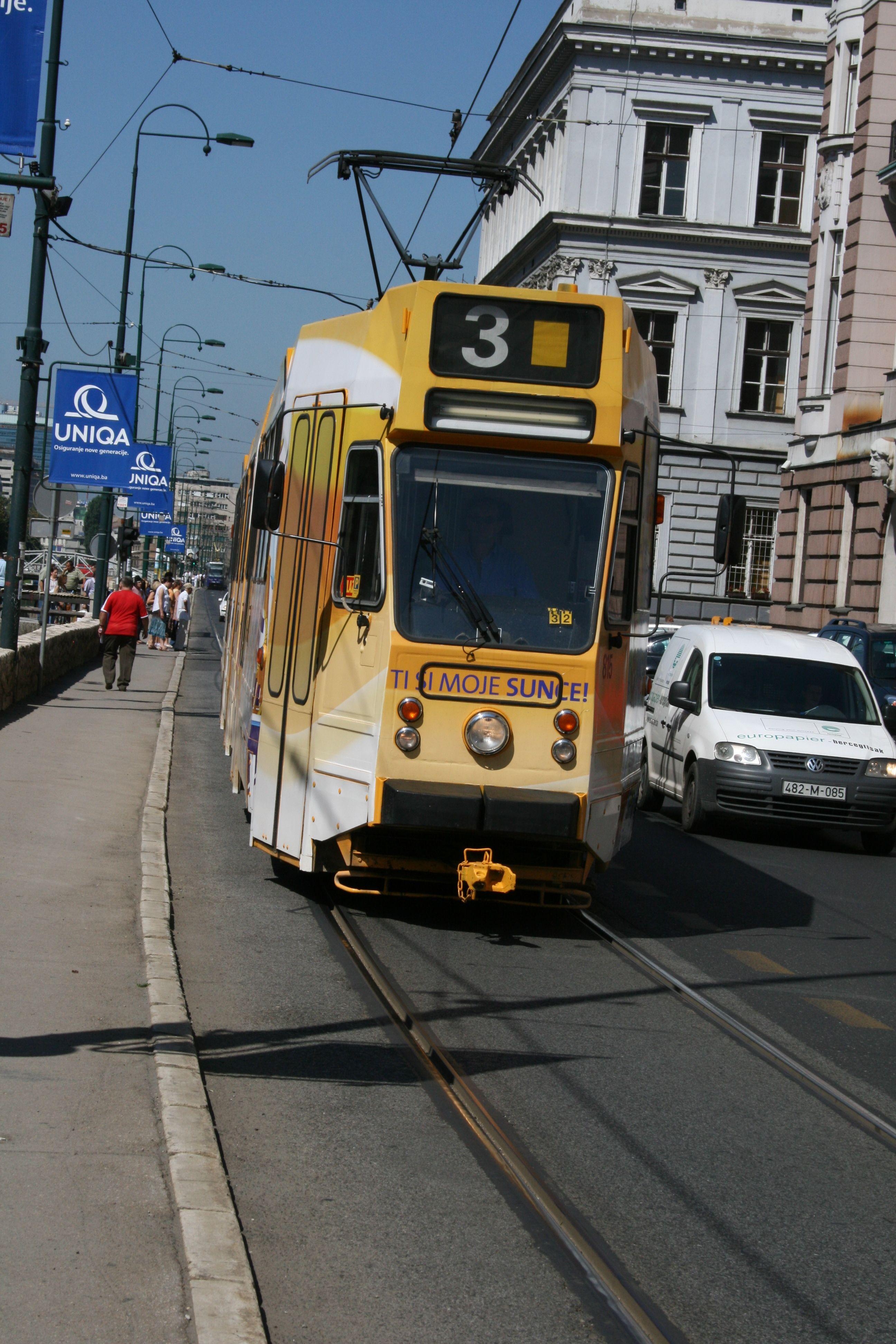Sarajevo Saraјevo Sarajevo Bosnian War Public Transport