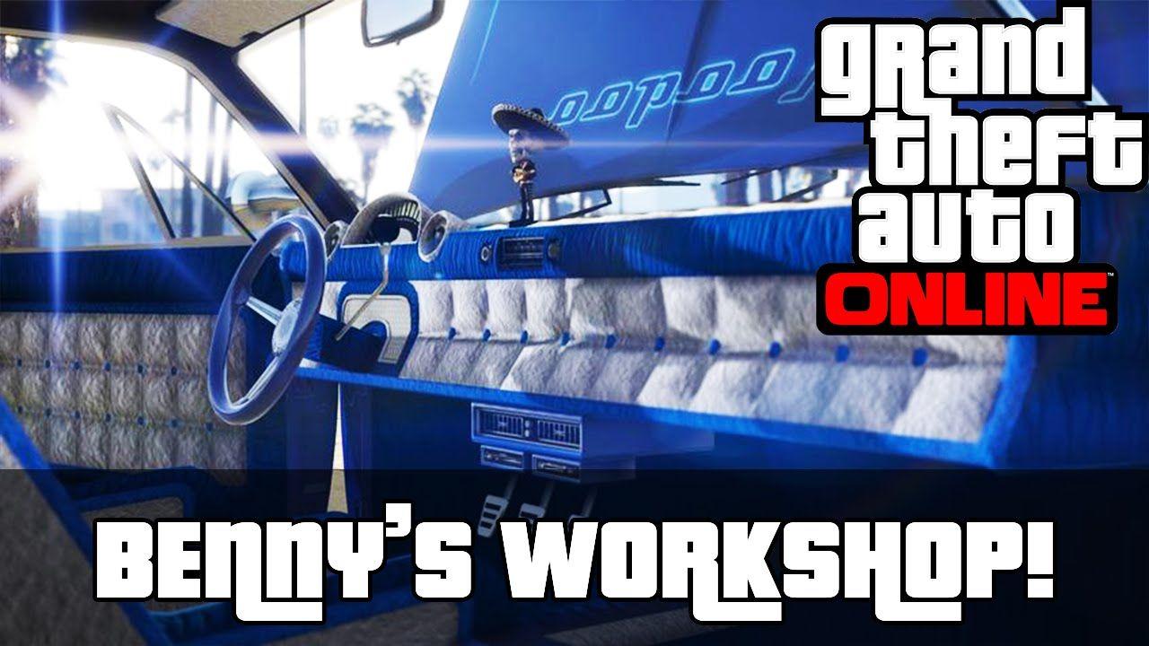 GTA 5 Online Lowriders Benny's Original Motor Works
