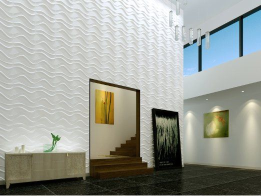 Swig 3d Wall Panels Box Of 12 32 Sq Ft Pvc Exterior Amp Interior Glue On Wall Amazon 3d Wall Panels Decorative Wall Panels 3d Textured Wall Panels