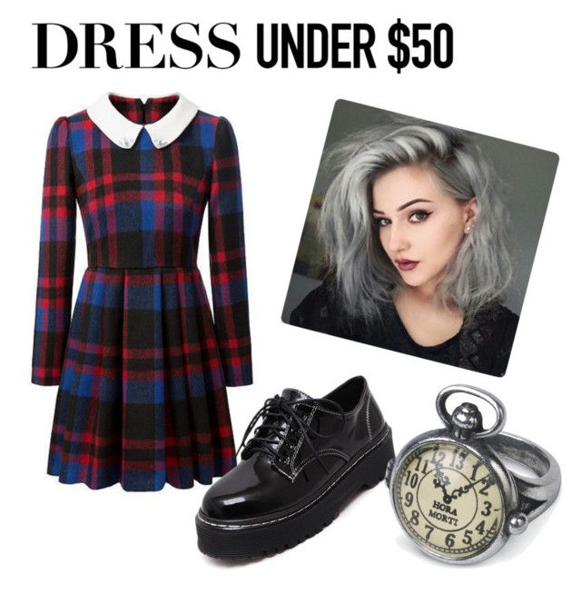 """dress under 50 $"" by emma-robion on Polyvore featuring WithChic and Dressunder50"