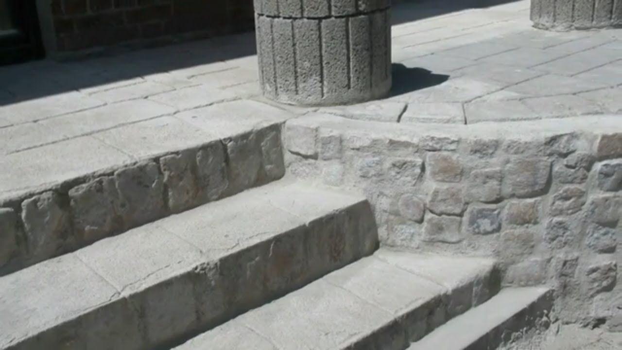 Como Hacer Piedras Artificiales Imitacion Piedra Pavimentar Sin Molde De Piedra Artificial Moldes Para Concreto Imitacion Piedra