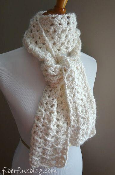 Free Crochet Pattern...Vanilla Bean Scarf! | Pinterest | Schal ...