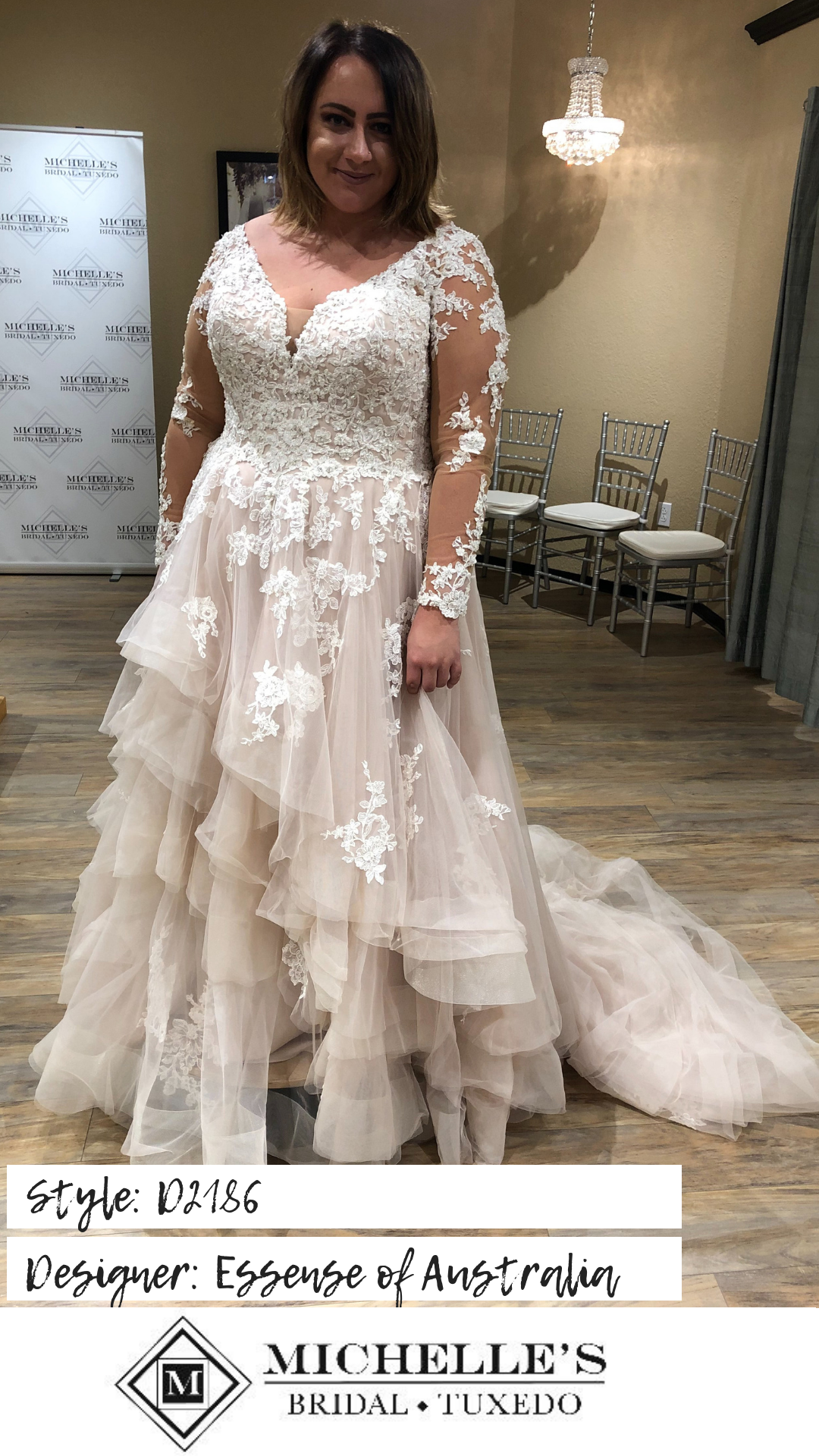 Plus Size Michelle S Bridal And Tuxedo Essense Of Australia Wedding Dresses Sleeved Wedding Dress Bridal [ 1920 x 1080 Pixel ]