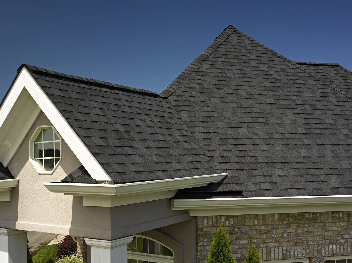 Landmark Roof In Moire Black From Certainteed