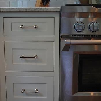 restoration hardware lugarno pulls cottage kitchen benjamin moore marscapone vreeland road - Restoration Hardware Kitchen Cabinet Pulls