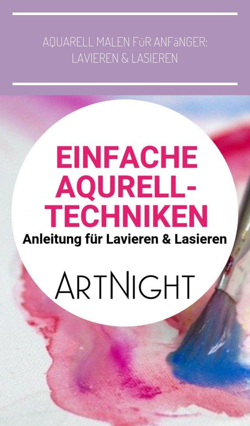 Aquarell Malen Fur Anfanger L In 2020 Pattern Fashion Treble