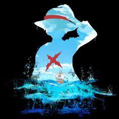 Luffy Sea Artwork