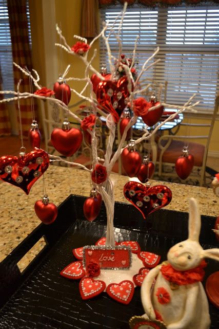 Photo of Hi Everyone! I thought I would share a little Valentine deco…