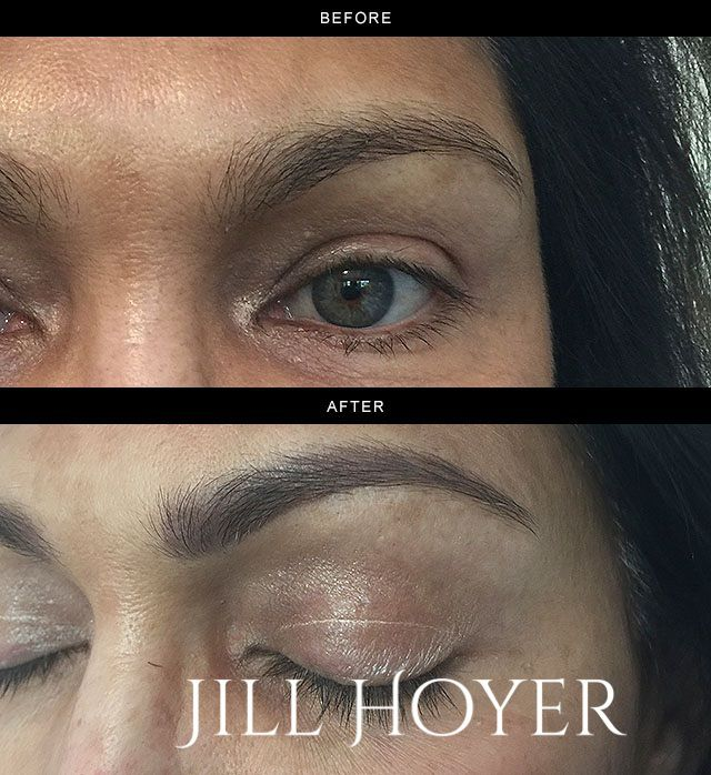 Ombregradient Brow Keep Lighter At Top Of Brow Design For A